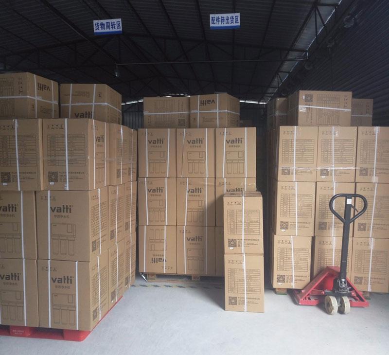 仓库中的货物